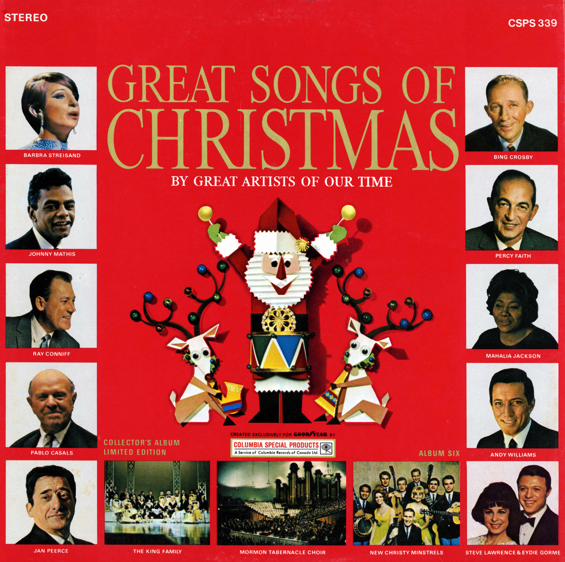 goodyear great songs of christmas