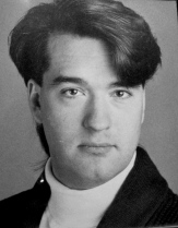 My theatre headshot 1988.