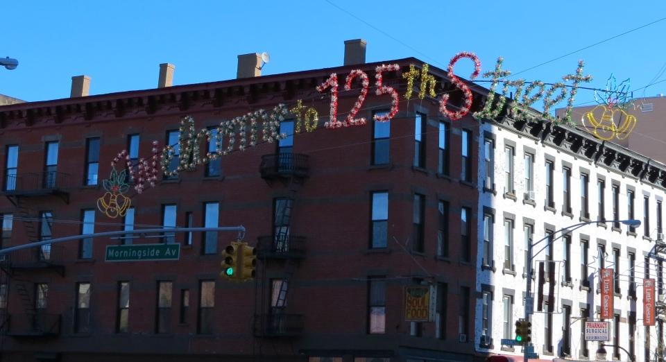 125th Street, Harlem, New York City.