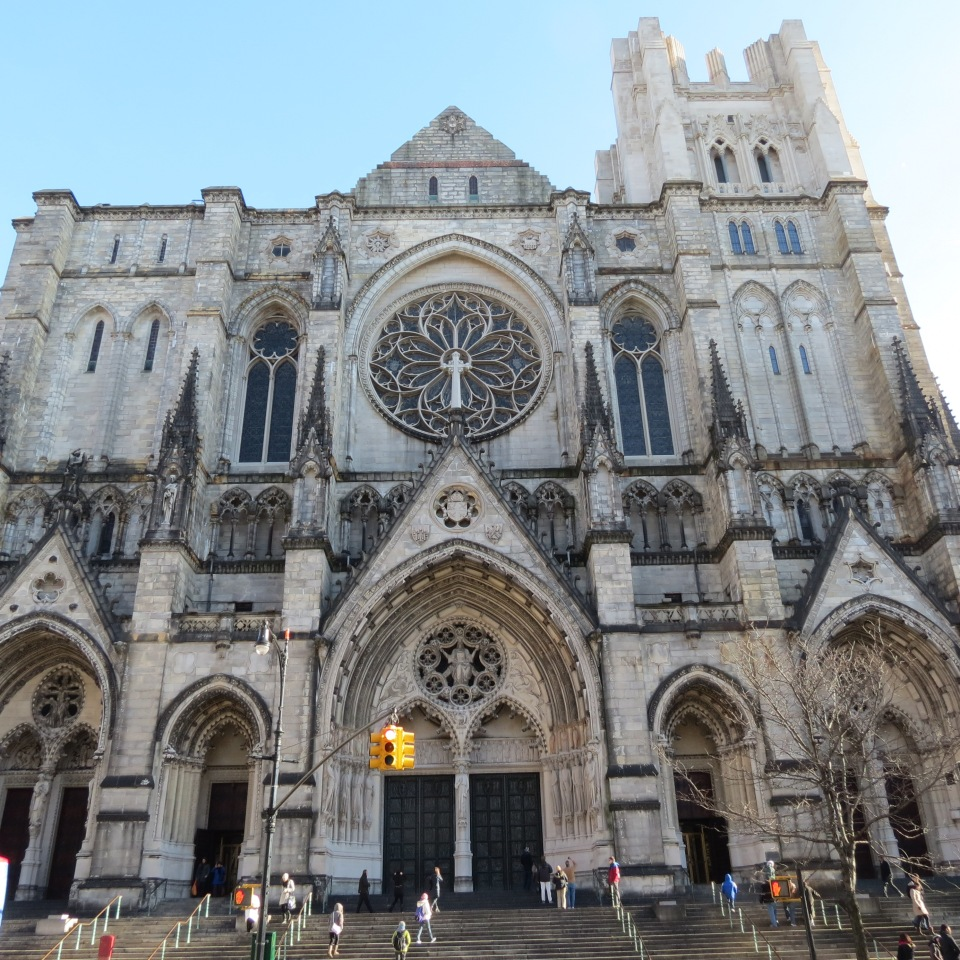 The Cathedral of St. John the Divine.