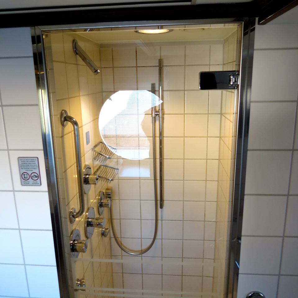 Our amazing multi-head shower.