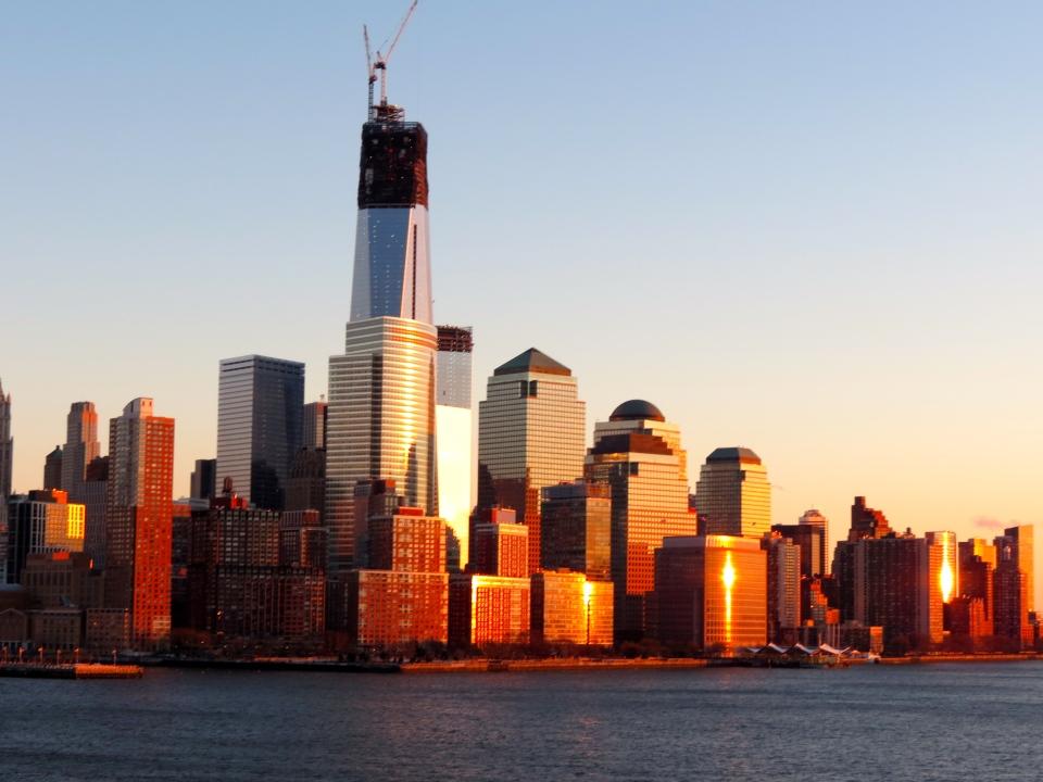 Lower Manhattan.