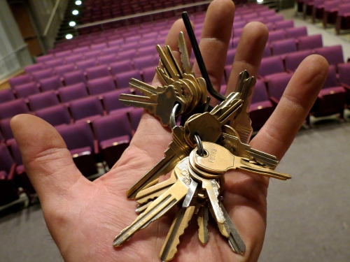 Keys no more. Carried this wad of keys for far too long.