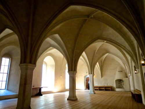 Inside Turku Castle.