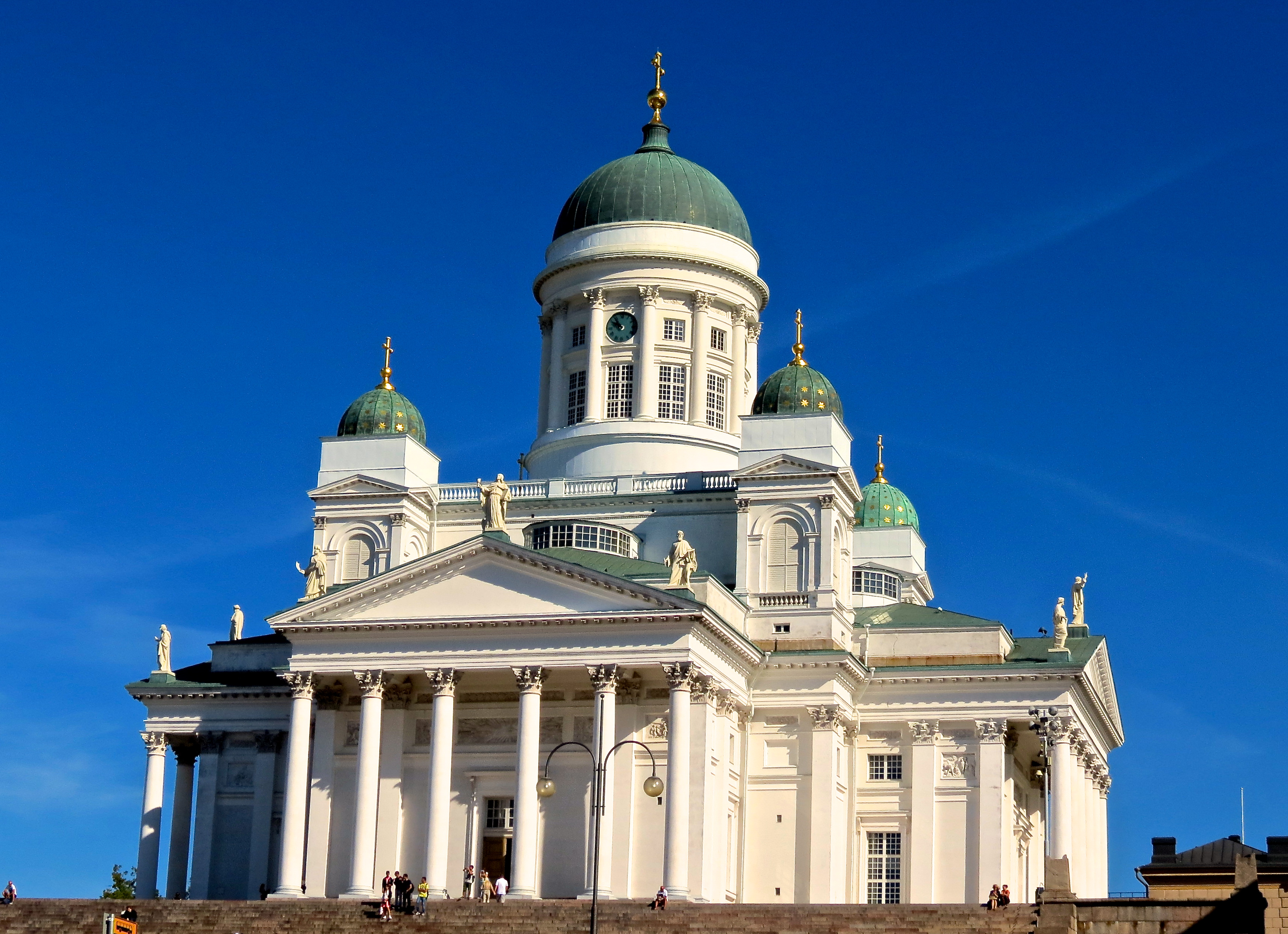 Renovtion Helsinki Cathedral 171 How Do You Measure 525600 Minutes