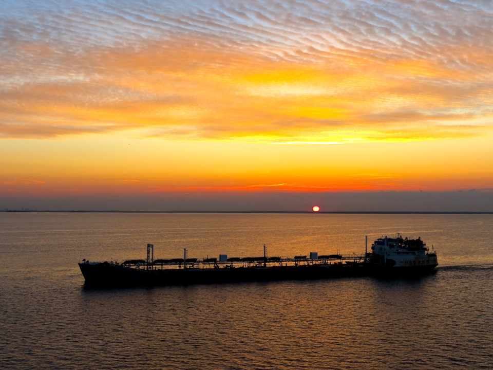 Russian Sunrise on the Baltic.