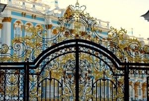 Gate at Catherine Palace.