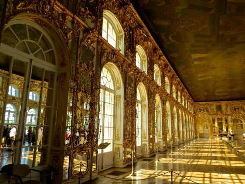 The Great Hall of Catherine Palace.