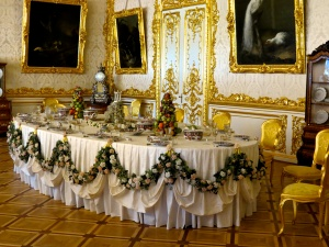 Inside Catherine Palace.