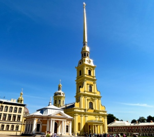 The Peter and Paul Fortress.