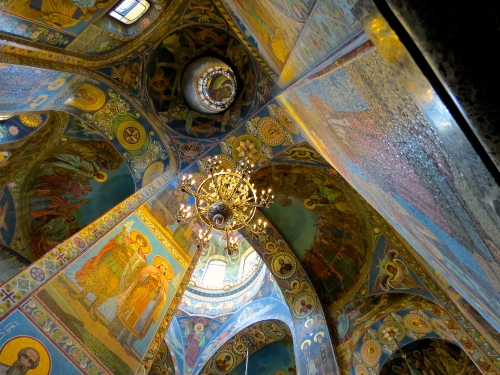 Church of the Spilled Blood.