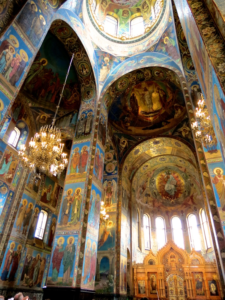 The Church of the Spilled Blood is one of the most magnificent places I've ever visited.