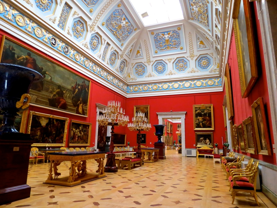 My favorite gallery space in the Hermitage.