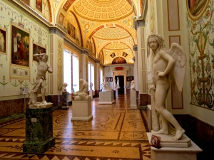 A sculpture wing in the hermitage.