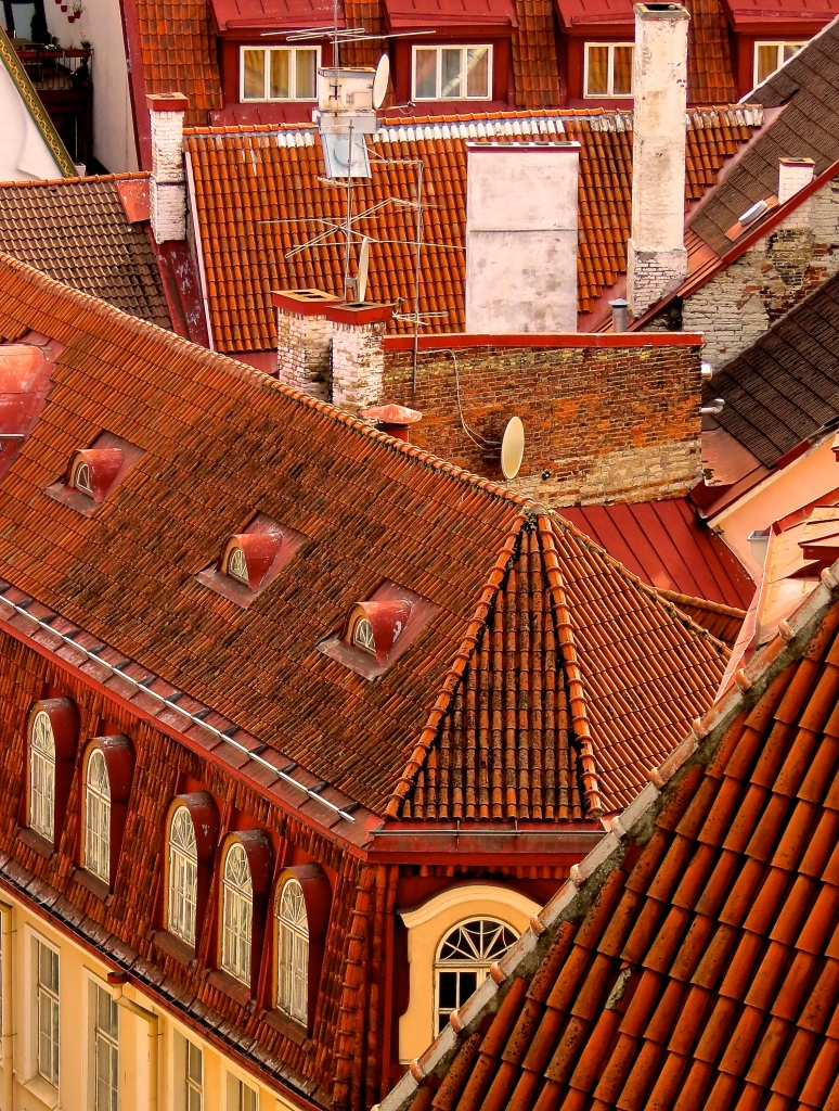 The rooftops of Toompea.