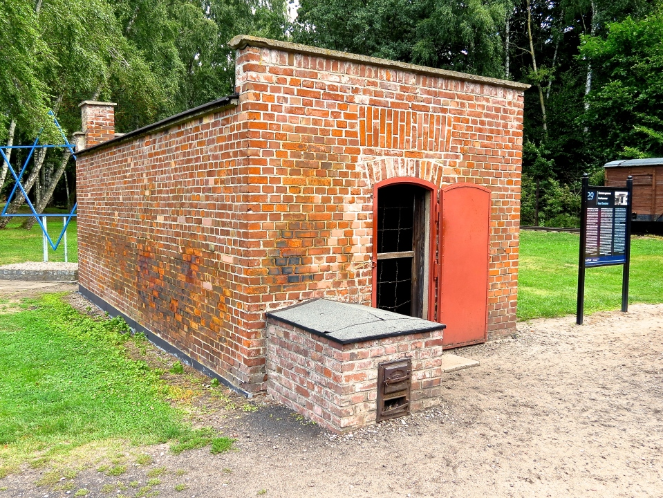 The gas chamber at Stutthof.
