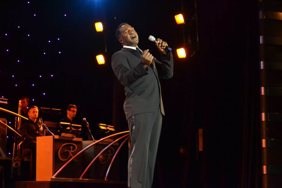 Norm Lewis in concert. (Photo courtesy of Judy Perl Worldwide Travel.)