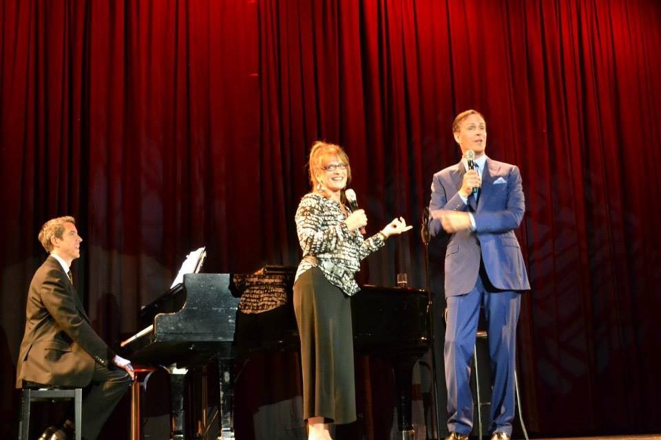 Patti LuPone & Howard McGillin reprise their roles, singing, You're the Top, with musical director Joseph Th.