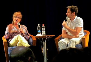 Seth's Chatterbox with Patti LuPone.