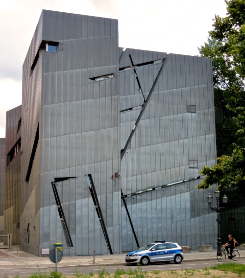 The Jewish Museum, Berlin, designed by architect Daniel Libeskind.