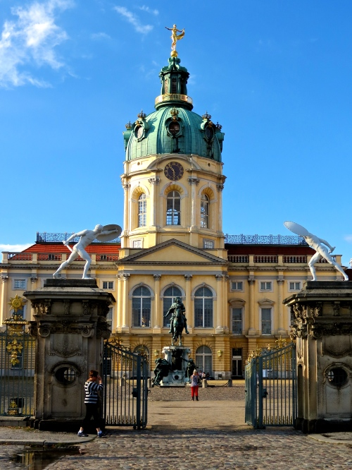 The stunning Schloss Charlottenburg in Berlin.
