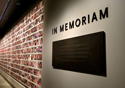 In Memoriam honors all the victims of 9/11 and includes an inner gallery that honors the memory of each individual.