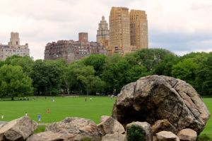 Sheep Meadow on Central Park's west side.