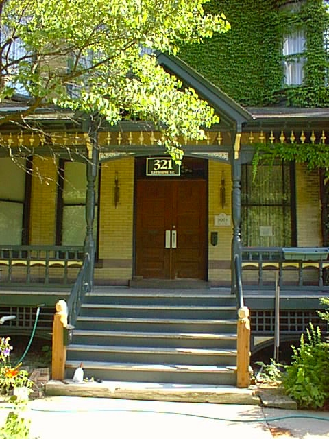 Front Porch at 321 Division Street in 1999.