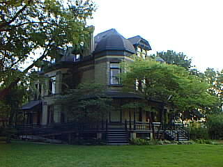 The John Newman House, 321 Division Street as it looked in 1998.