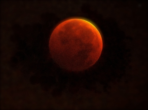 Lunar Eclipse, October 8th, 2014.
