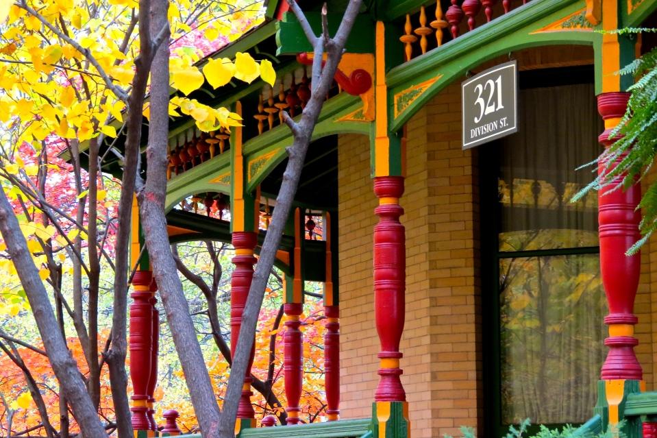 Fall at 321 Division Street.