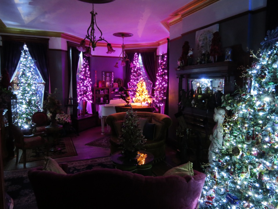 Front Parlor- Night view.