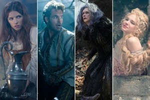 Cast of Disney's film, Into the Woods.