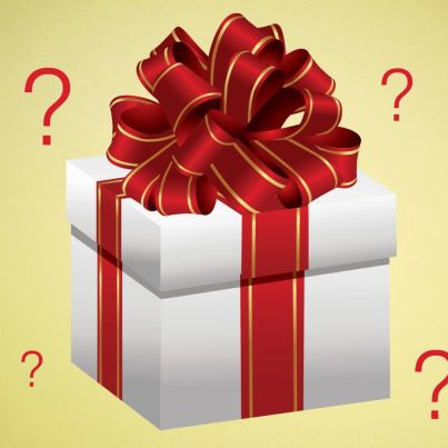 Image result for mystery xmas gift