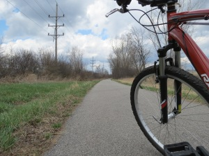 Out on the Fox River Trail.