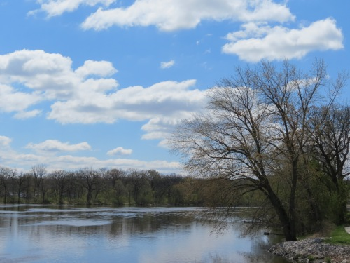 Stunning view of the Fox River.