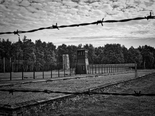 Children not lucky enough to escape on the Kindertransport, were forced into concentration camps like Stutthof, where many of them died. (At Museum Stutthof, August 2013.)