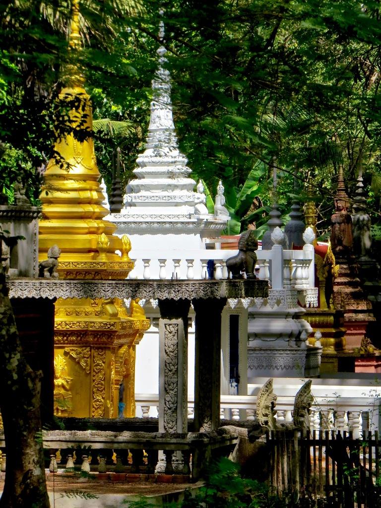 A cemetery at Angkor Wat.
