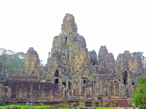 The Bayon Temple of Angkor Thom.