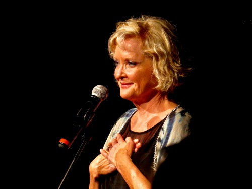 Christine Ebersole gave the first concert of Broadway On The High Seas 5.