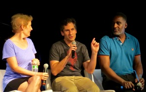 Talking Miss Saigon with Liz Calloway, Seth Rudetsky & Norm Lewis.
