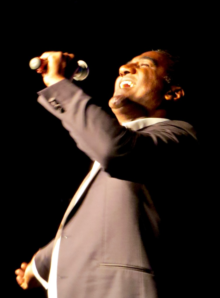 Norm Lewis brings down the house.