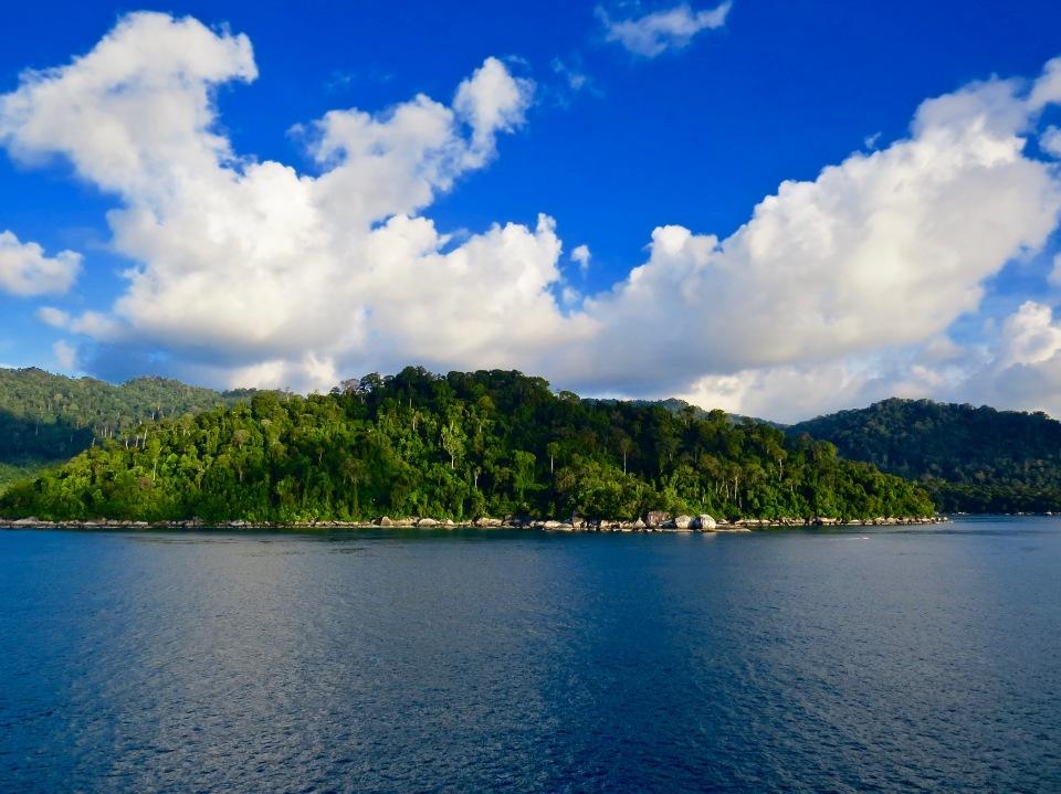 The island of Tioman, Malaysia.