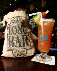 The Original Singapore Sling at Raffles' Long Bar.
