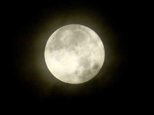 The Christmas Day Full Cold Moon. First one since 1977.
