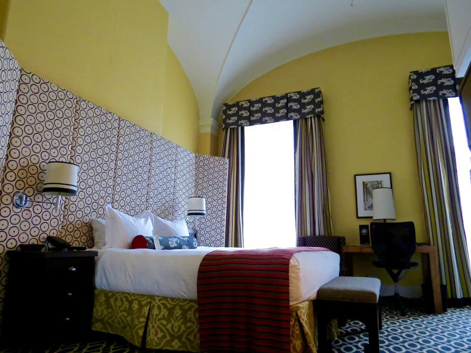 Our room at the Hotel Monaco.