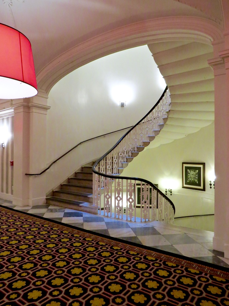 Stairwell in the historic Hotel Monaco, formerly the General Post Office.