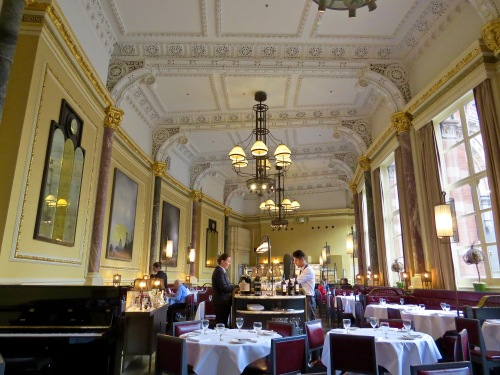 The Gilbert Scott Restaurant.