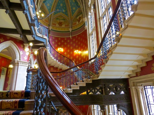 A view at the Grand Staircase.