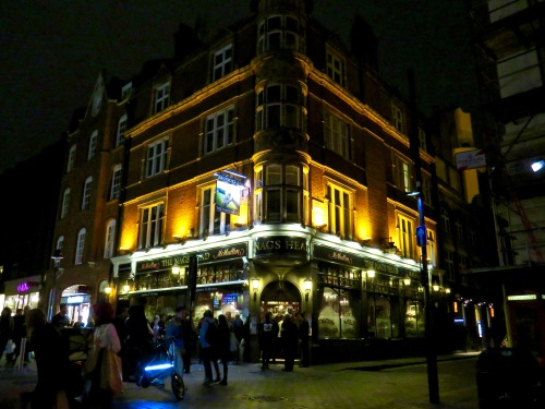 The Nags Head in the West End.